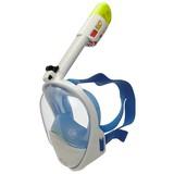 Vollgesicht-schnorchelmaske Scubsea - Blau/Transparent, MODERN, Kunststoff (L/XLnull)