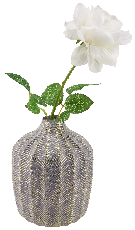 Glasvase mit Blume