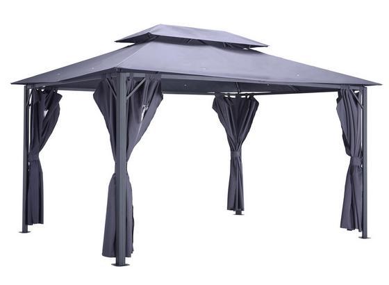 Pavilón Malta - antracitová, kov/textil (300/275/400cm) - Modern Living