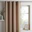 Záves S Krúžkami Ulli -eö- -ext- - piesková, textil (140/245cm) - Mömax modern living