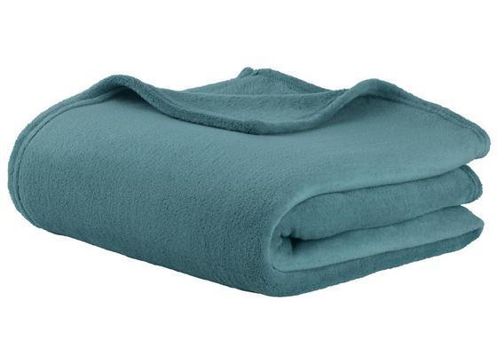Deka Kuschelix -ext- -top- - modrá, textil (140/200cm)