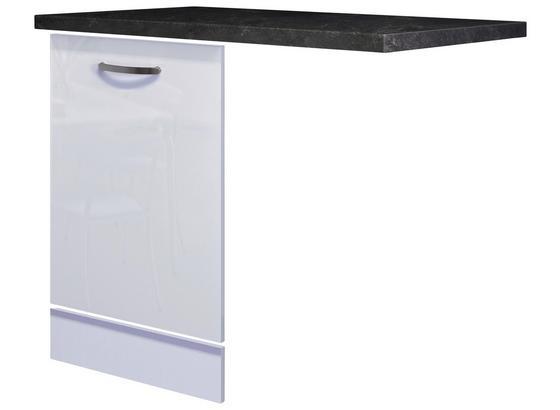 Geschirrspülerblende Alba  Gsp-Paket Tigsv - Schieferfarben/Weiß, MODERN, Holzwerkstoff (60cm)