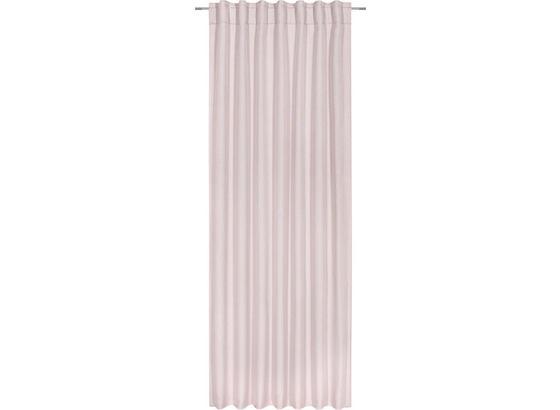 Závěs Jakob - růžová, textil (140/245cm) - Mömax modern living