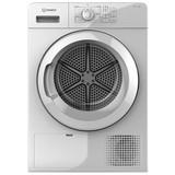 Kondensationstrockner Yt cm08 8b De - Weiß, Basics, Kunststoff (59,5/84,9/64,9cm) - Indesit