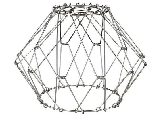 Tienidlo Na Svetlo Flessi - strieborná, Romantický / Vidiecky, kov (19,5/28cm) - Modern Living