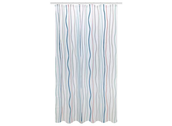 Duschvorhang Svenja - Multicolor, MODERN, Textil (180/200cm) - Luca Bessoni