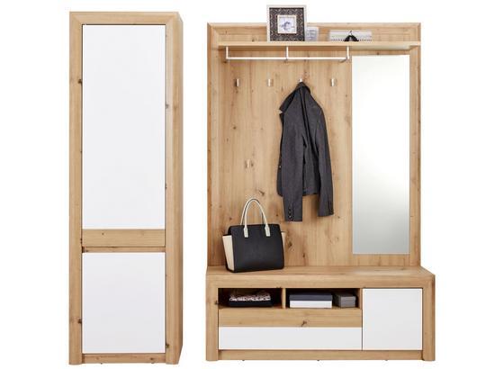 Odporúčaná Kombinácia Kashmir New 7 - farby dubu/biela, Moderný, kompozitné drevo (190/192/41cm) - James Wood