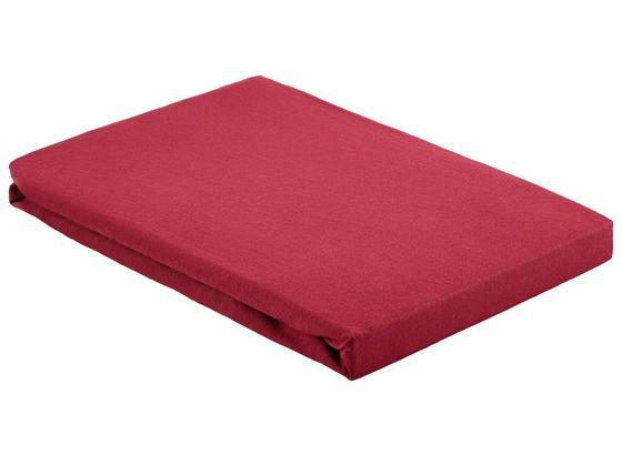 Napínacie Prestieradlo Basic - bordová, textil (100/200cm) - Mömax modern living