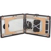 Massageliege aus Holz - Braun, MODERN, Holz/Kunststoff (217/92/63,5-86cm) - ROYALBEACH