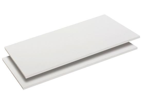 Einlegebodenset Penta4/Viktor4/Royal4 - Weiß, MODERN, Holz (105/2,2/46,5cm)