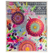 Kuscheldecke Bolengo - Multicolor, Textil (130/160cm)