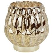 Windlicht Cadoc - Braun, Basics, Glas (14/13,5cm) - Luca Bessoni