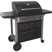 Gasgrill Toledo 500 - Silberfarben/Schwarz, MODERN, Metall (127,6/108/48,4cm)
