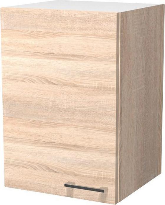 Kuchyňská Horní Skříňka Samoa  H 40 - bílá/barvy dubu, Konvenční, dřevěný materiál (40/54/32cm)
