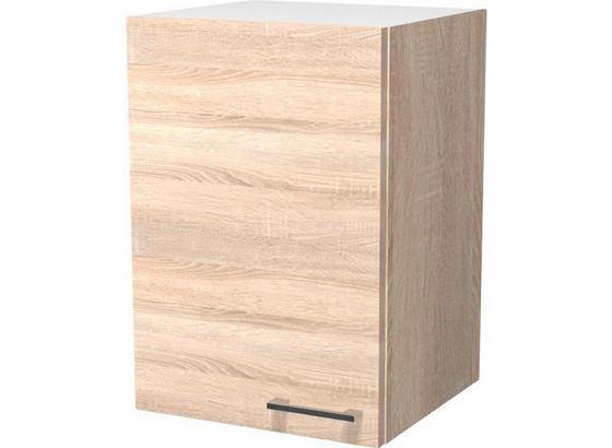 Kuchyňská Horní Skříňka Samoa  H 40 - bílá/barvy dubu, Konvenční, kompozitní dřevo (40/54/32cm)