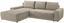 Wohnlandschaft L-form Adria 213x308cm - Beige, MODERN, Textil (213/308cm) - Luca Bessoni