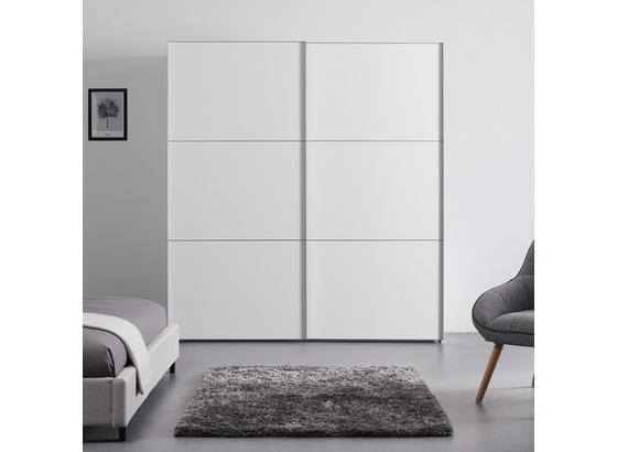 Schwebetürenschrank 200 cm Includo - Weiß, MODERN, Holzwerkstoff (200/222/68cm)