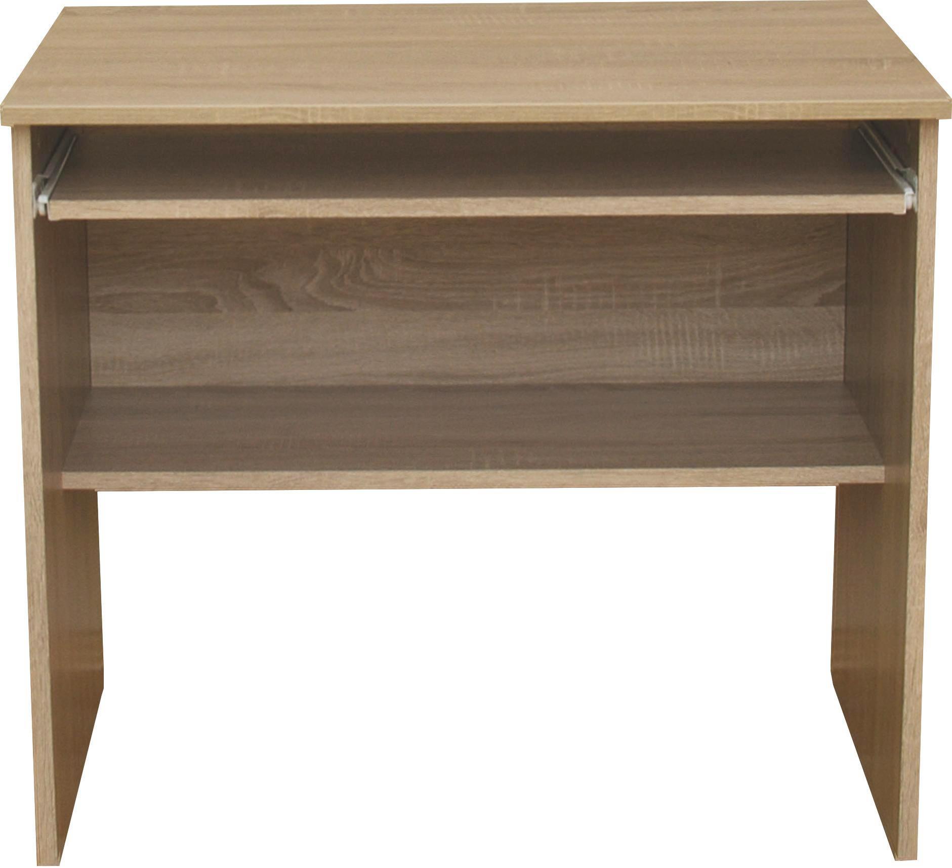 Íróasztal Ivi 2 - modern, faanyagok (80/72/51cm)