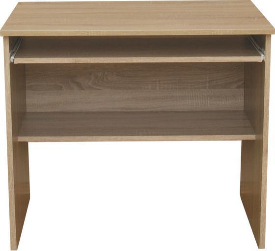 Písací Stôl Ivi 2 - Moderný, drevený materiál (80/72/51cm)