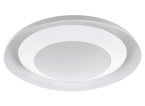 LED-Deckenleuchte Canicosa 1 - Weiß, MODERN, Kunststoff/Metall (76,5/14cm)