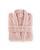Bademantel Amira - Hellrosa, KONVENTIONELL, Textil (S-XL) - Ombra
