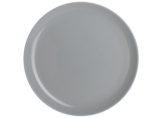 Talíř Jídelní Alexis - šedá, Romantický / Rustikální, sklo (25cm) - Mömax modern living