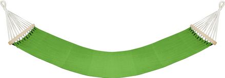Houpací Síť Relax - zelená/hnědá, dřevo/textilie (100/200cm) - Mömax modern living