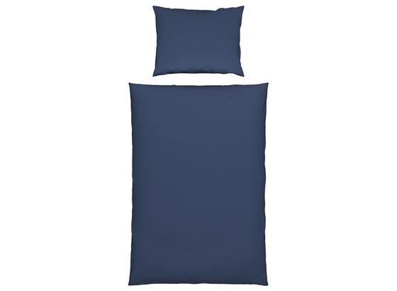 Bettwäsche Susann in Blau - Blau, Natur, Textil - James Wood