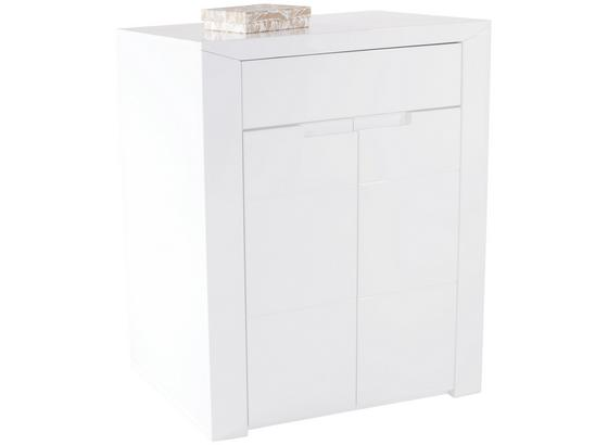 Komoda Bree - bílá, Moderní, kompozitní dřevo (85/100/38cm)