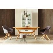 Jídelní Stůl Ara - barvy dubu, Lifestyle, dřevo (160/76/90cm) - ZANDIARA