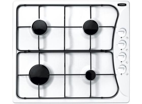 Plynová Varná Deska Vdp 645 W (mora) - bílá, Moderní, kov (58/5/51cm) - Mora