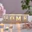 Držiak Na Čajové Sviečky Home & Love - biela, kompozitné drevo/sklo (30/7,5/7,5cm) - Modern Living