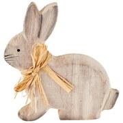 Dekohase Alanna - Naturfarben, KONVENTIONELL, Holz/Textil (14,5/14/2,5cm) - Ombra