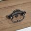 Komoda Florina - hnedá/sivá, Moderný, kov/drevo (100/78/34cm) - Modern Living