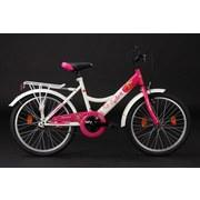 Kinderfahrrad Kinderrad 20' Chery Heart - Pink/Weiß, Basics, Metall