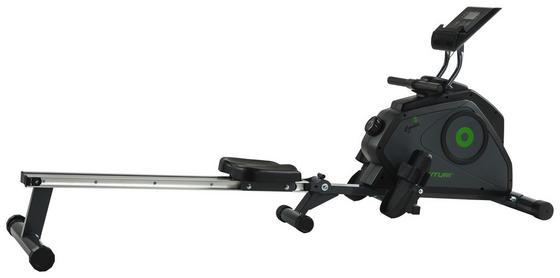 Rudergerät R30 Rower Cardio Fit - Schwarz/Grau, MODERN, Kunststoff/Metall (50,8/70/190,5cm) - Tunturi