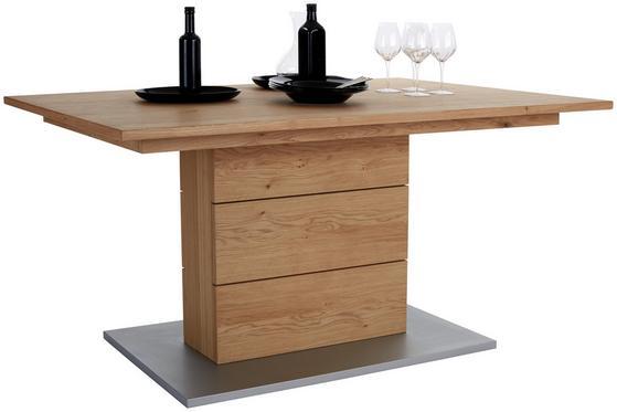 Esstisch mit Tischplatte aus Eiche massiv