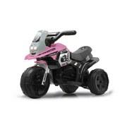 Ride-On E-Trike Racer Pink - Pink/Schwarz, Basics, Kunststoff (67,5/35/44,5cm)