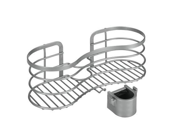 Ablage Viva Duschenablage Polytherm - Silberfarben, Basics, Metall (29/12/11cm)