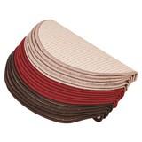 Lépcsőszőnyeg Birmingham - bézs, konvencionális, textil (25/65cm)