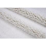 Hochflorteppich Galaxy 140/200 - Weiß, MODERN, Textil (140/200cm)