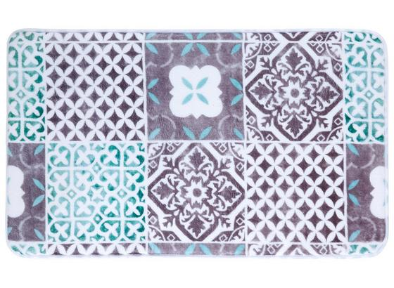 Předložka Koupelnová Marrakesh - šedá/bílá, Lifestyle, textil (45/75cm) - Mömax modern living