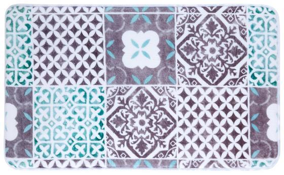 Rohožka Do Kúpeľne Marrakesh - sivá/biela, Štýlový, textil (45/75cm) - Mömax modern living