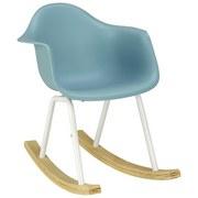 Dětská Židle Bobby - modrá, Moderní, kov/dřevo (41,5/60/54cm) - Mömax modern living