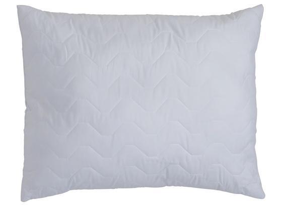 Mikrofaser Kopfpolster Basic 70x90 cm - Weiß, KONVENTIONELL, Textil (70/90cm)