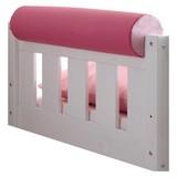 Nackenrolle Rosa/Hellrosa L: 79cm - Hellrosa/Rosa, KONVENTIONELL, Textil (79/16,5/16,5cm) - Livetastic