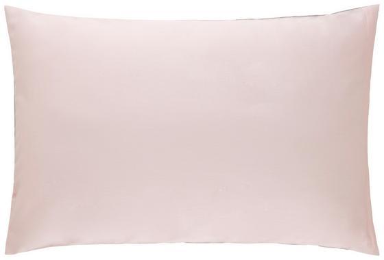 Povlak Na Polštář Belinda, Cca 40x60cm - růžová/světle šedá, textil (40/60cm) - Premium Living