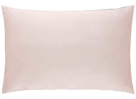Povlak Na Polštář Belinda, Cca 40x60cm - růžová/světle šedá, textilie (40/60cm) - Premium Living