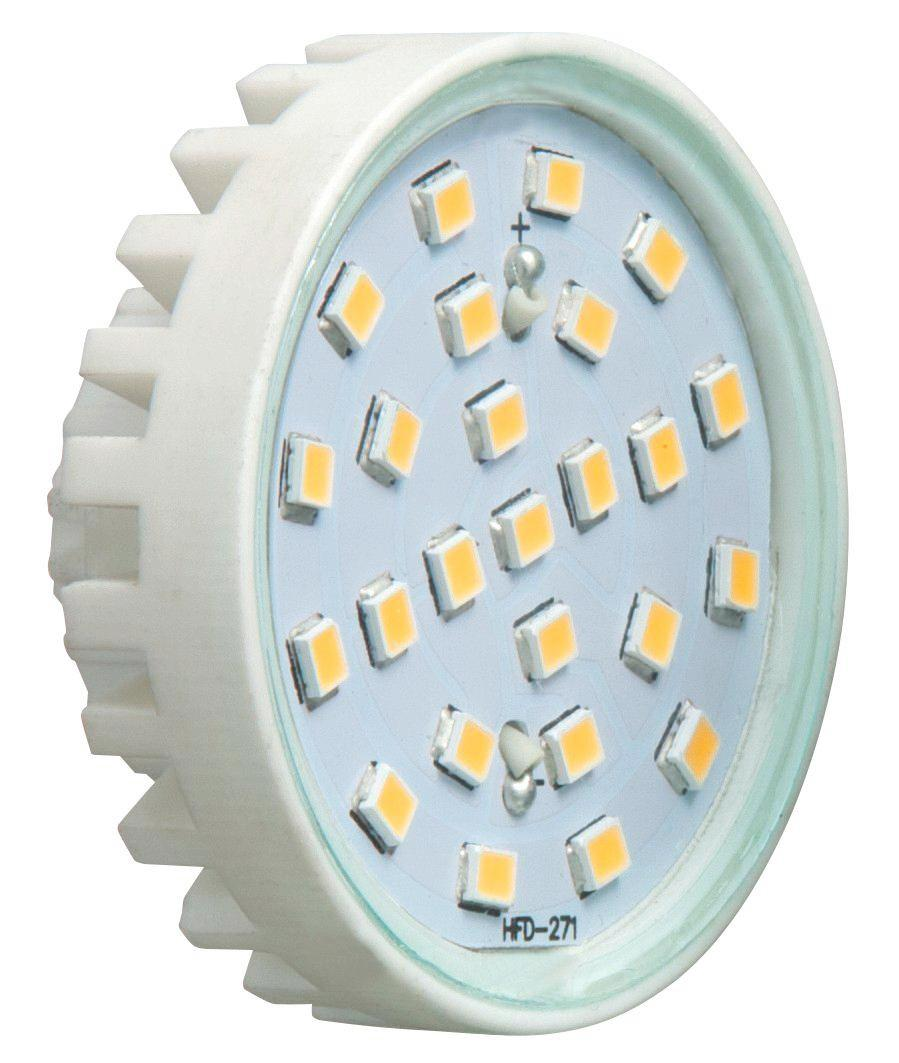 LED-Leuchtmittel Economic - Weiß, MODERN, Kunststoff (4,5/3cm)