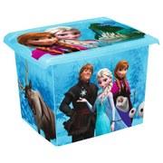 Aufbewahrungsbox Frozen - Blau, KONVENTIONELL, Kunststoff (39/29/27cm) - Disney